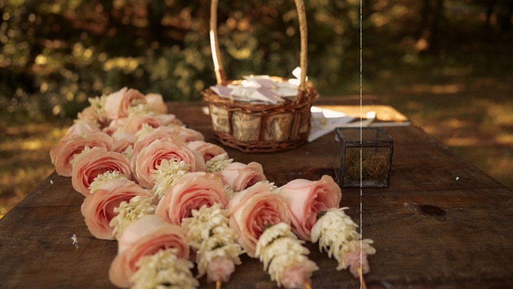 Fleurs de mariage boho chic
