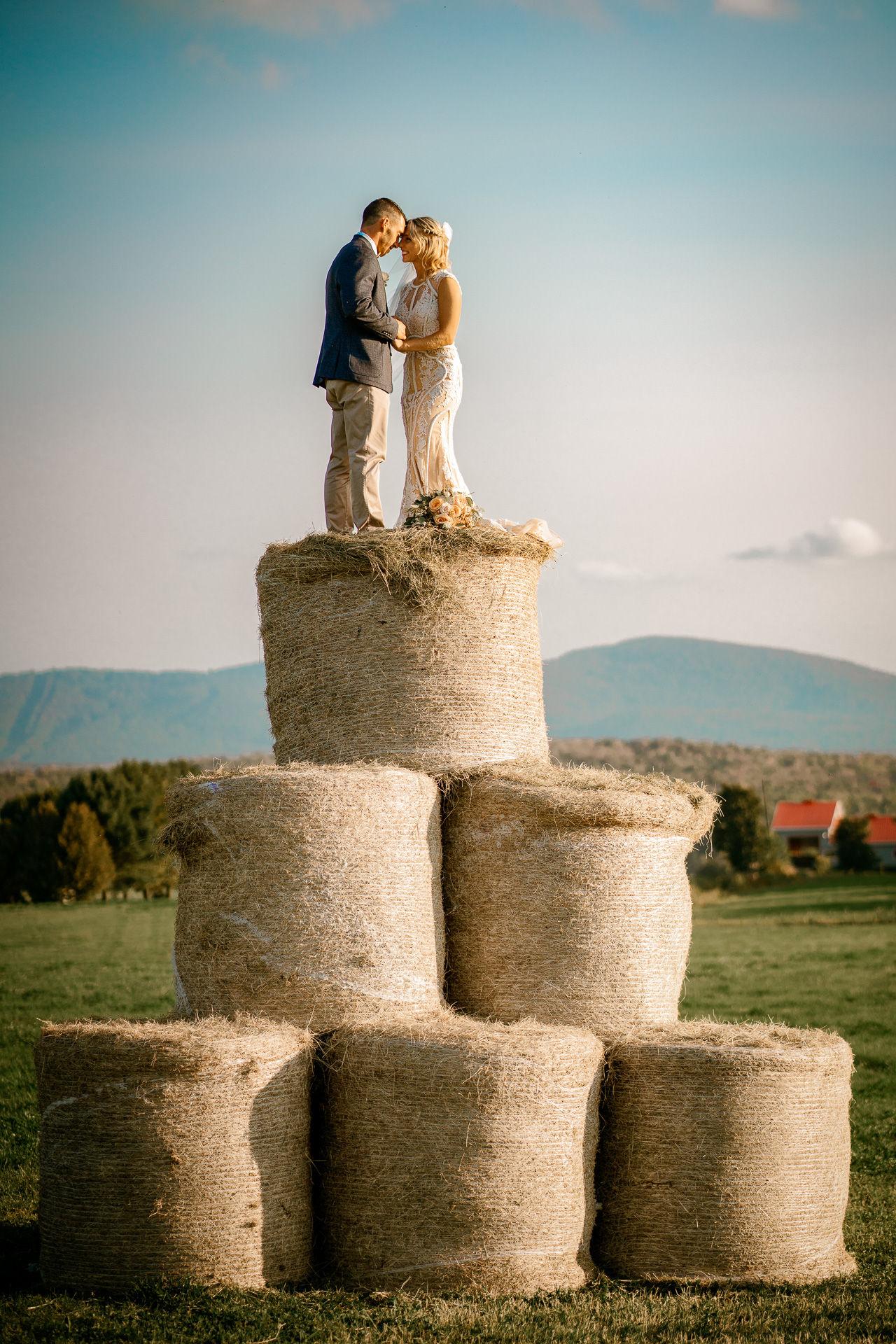mariage ferme rustique quebec photo mariage